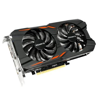 Gigabyte videokaart: GeForce GTX 1050 Windforce OC 2G - Zwart