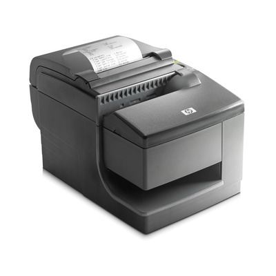 Hp pos bonprinter: hybride thermische printer met MICR - Zwart