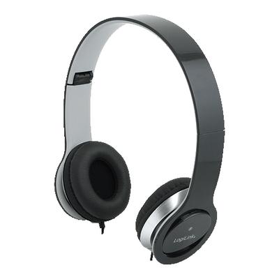 LogiLink HS0028 Headset - Zwart