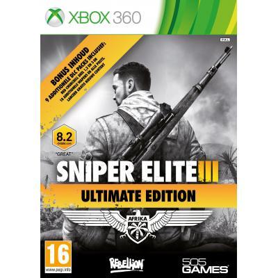 505 games game: Sniper Elite 3 (Ultimate Edition)  Xbox 360