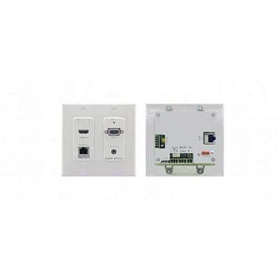 Kramer Electronics VGA, RS-232, 4K HDMI, HDTV, HDCP, 390g wandzender - Wit