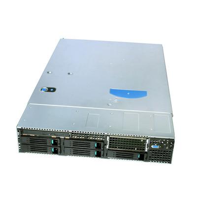 Intel Server System SR2600URBRPR Server barebone - Zwart,Zilver