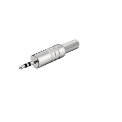 Microconnect 3.5 mm Kabel connector - Zilver