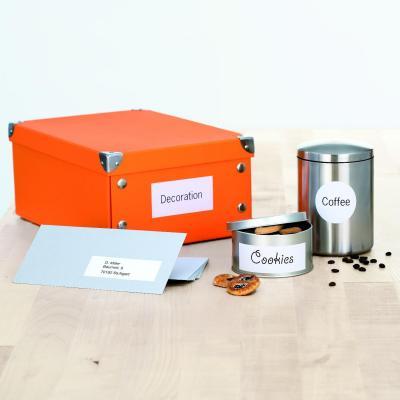 Herma etiket: Inkjet labels A4 66x33.8 mm white paper matt 2400 pcs. - Wit