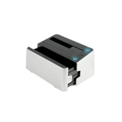 Microstorage HDD/SSD docking station: USB/eSATA to 2.5''&3.5'' SATA, 2-Bay Docking, HDD clone function - Grijs