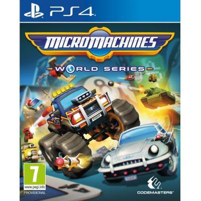 Codemasters game: Micro Machines World Series  PS4