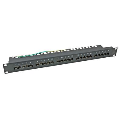 EFB Elektronik 37595SW.2 Patch panel - Zwart