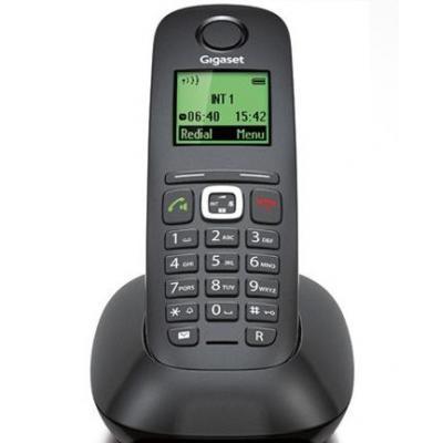 Gigaset dect telefoon: A540 - Zwart
