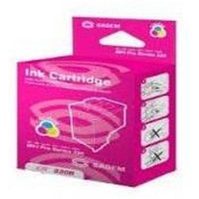 Sagem MF J321 Ink Cartridge Cyan, Magenta & Yellow, Standard Capacity, 500 pages, 1-pack Inktcartridge - .....