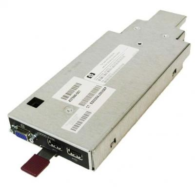 Hewlett Packard Enterprise KVM module KVM switch - Zwart, Metallic