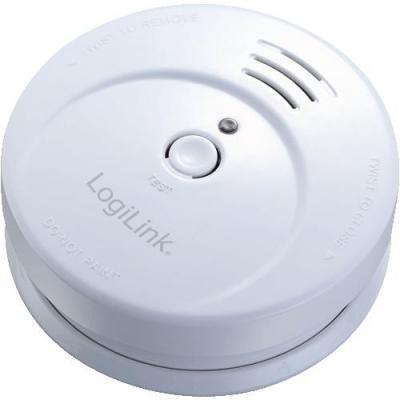 Logilink rookmelder: Smoke Detector - Wit