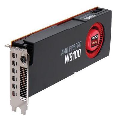 AMD FirePro W9100 Videokaart - Zwart