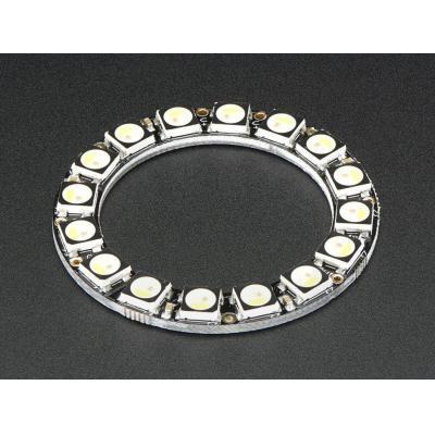 Adafruit decoratieve verlichting: 16x 5050 RGBW LEDs, Warm White, 3000K - Zwart