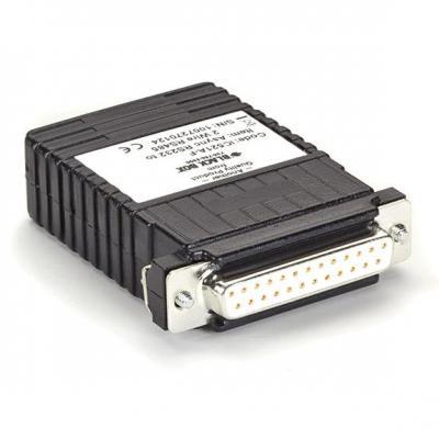 Black Box Async RS-232 2-Wire RS-485 Interface Line Driver Video converter - Zwart