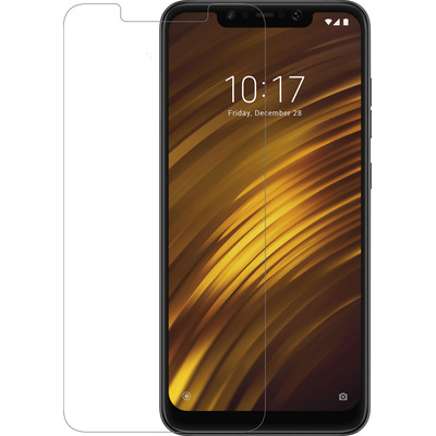 Azuri Tempered Glass flat RINOX ARMOR - transparent - Xiaomi Poco F1 Screen protector - Transparant