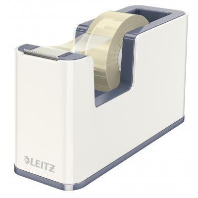 Leitz tape afroller: WOW - Metallic, Wit