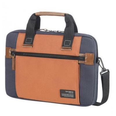 "Samsonite laptoptas: Sideways 13.3"" - Blauw, Bruin"