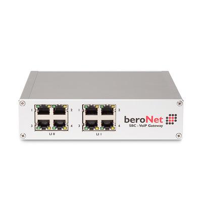 BeroNet BNSBC-M-4BRI Gateway - Wit