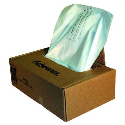 Fellowes Papiervernietiger opvangzak 165L Papier-shredder accesoire - Transparant