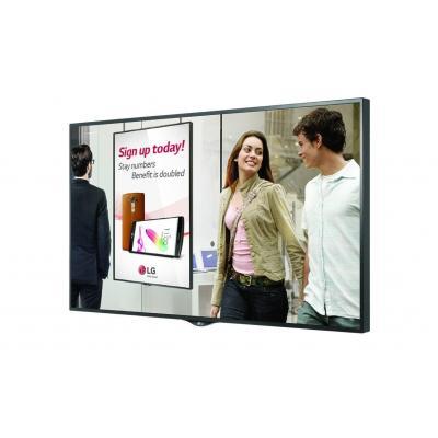 LG 75XS2C-B Public display - Zwart