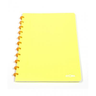 Atoma schrijfblok: Schrift A4 Geruit 5x5mm Fluorescerende (Willekeurige kleur) - Multi kleuren