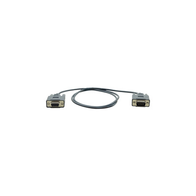 Kramer Electronics C-D9M/D9F Seriele kabel - Zwart