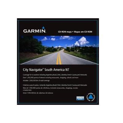 Garmin Zuid-Amerika, City Navigator NT (microSD/SD) + SD adapter Map update
