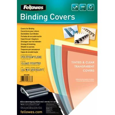 Fellowes binding cover: Futura - Transparant