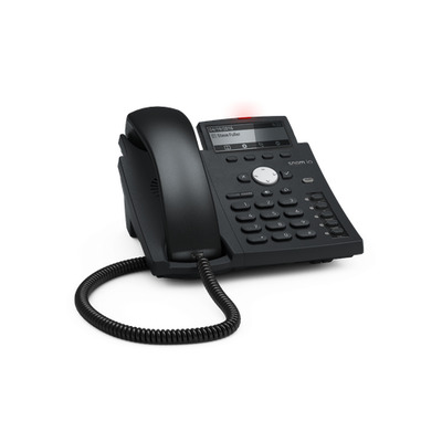 Snom D315 IP telefoon - Zwart, Blauw