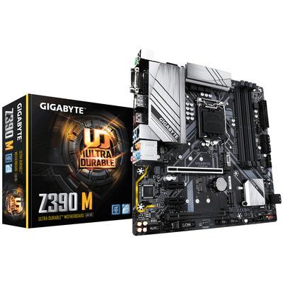 Gigabyte LGA 1151 (Socket H4), Intel Z390 Chipset, 4 x DDR4-SDRAM up to 128GB, LAN, 1 x RJ-45, 6 x SATA III, 2 .....