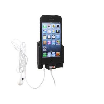 Brodit houder: f/iPhone5, Tilt Swivel, Padded, ABS Plastic, Black - Zwart