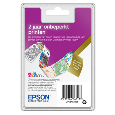 Epson UP18NL0001 Installatieservices