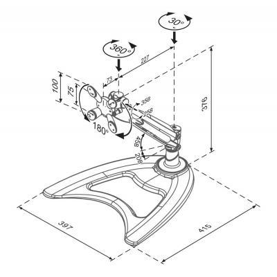 Newstar FPMA-D945 monitorarm