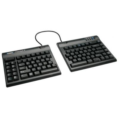 Kinesis toetsenbord: Freestyle2 9inch Separation - Zwart, QWERTY
