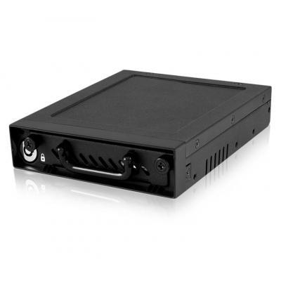 """Raidsonic behuizing: Mobile Rack for 2.5"""" SATA/SAS HDD - Zwart"""