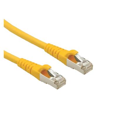 ROLINE CAT.6a S/FTP Netwerkkabel - Geel