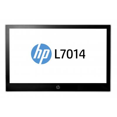 Hp paal display: L7014 14-inch retailmonitor