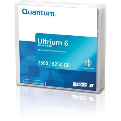 Quantum Ultrium 6 Bar Code Labeled WORM Datatape - Zwart
