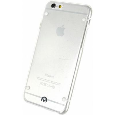 Mobilize Hybrid Case Transparent Apple iPhone 6 White Mobile phone case - Transparant, Wit