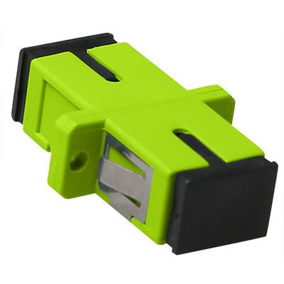 ACT SC-SC, 0.1 dB, Lime green Fiber optic adapter - Groen