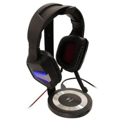 Patriot Memory Viper Gaming Headset Stand/USB 3.0 Hub Koptelefoon accessoire - Zwart