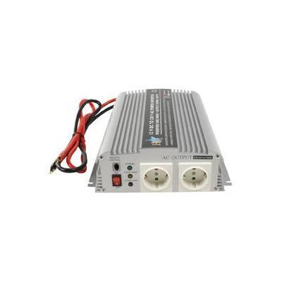 Hq netvoeding: 12V-230V 1000W - Zilver