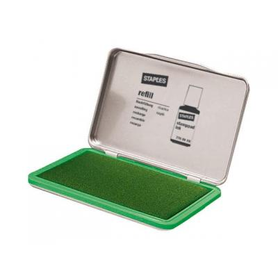 Staples stempel inkt: Stempelkussen SPLS 11x7cm 7711973 groen
