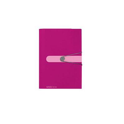 Herlitz Expanding file PP 12tab berry Map - Rood