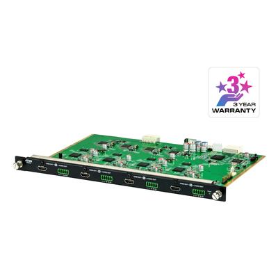 ATEN 4-poorts HDMI-uitgangskaart met schaler - Zwart,Groen