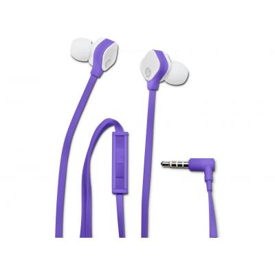 Hp headset: H2310 Purple In-ear Headset - Paars