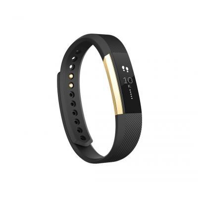 Fitbit wearable: Alta - Zwart, Goud