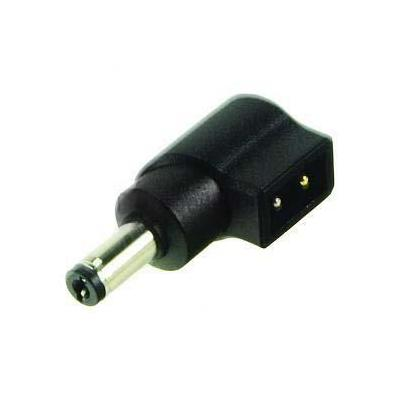 2-power laptop accessoire: Universal Tip for AC Adapter, Black - Zwart