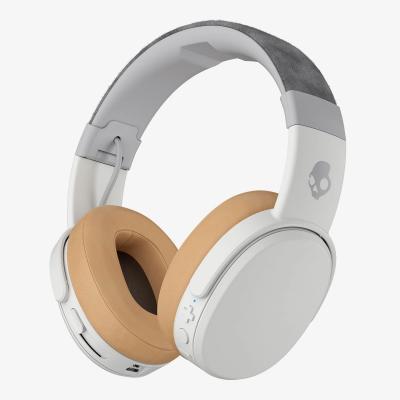Skullcandy headset: Crusher Wireless - Lichtbruin, Wit