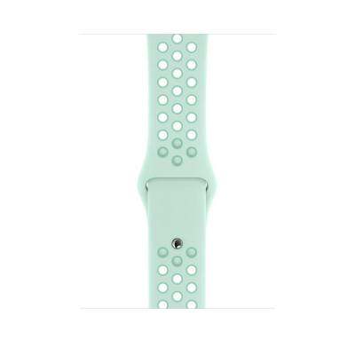 Apple 44mm Teal Tint/Tropical Twist Nike Sport Band – S/M & M/L horloge-band - Muntkleur